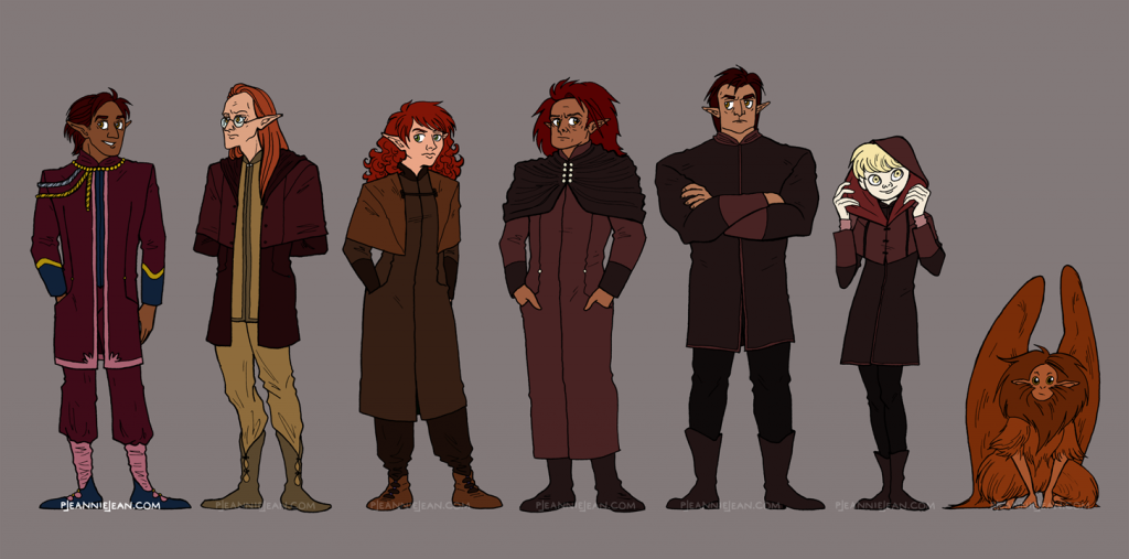 Ittamar Character Designs