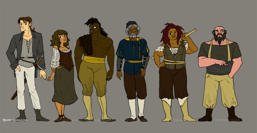 Orabelle Character Designs
