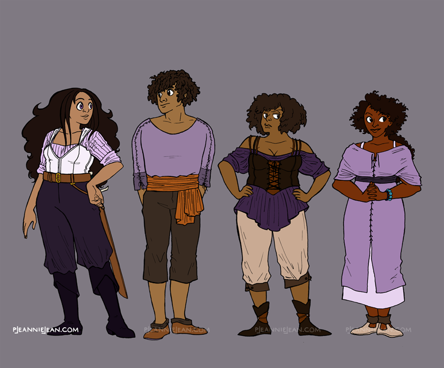 Siris Character Designs